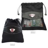 University of Chicago Valuables Bag U CHICAGO WORD/U CHICAGO CREST