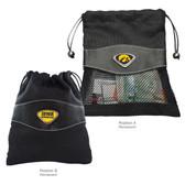 Iowa Hawkeyes Valuables Bag IOWA HAWK MASCOT/IOWA HAWKEYES WORDS