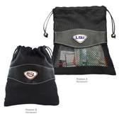 LSU Tigers Valuables Bag LSU INITIALS/LSU MASCOT - TIGER