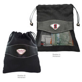 Sanford Cardinal Valuables Bag  STANFORD CAPITAL S/STANFORD U WORDS