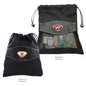 "Virginia Tech Hokies Valuables Bag Virginia Tech Hokies ""VT""/Virginia Tech Hokies ""SHIELD"""
