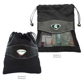 Michigan State Spartans Alumni Valuables Bag MICHIGAN STATE SPARTY/ALUMNI