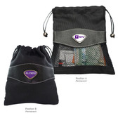 New York University Alumni Valuables Bag NYU INITIALS/ALUMNI