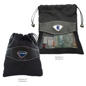 Rice Owl Alumni Valuables Bag RICE CAPITAL R/ALUMNI