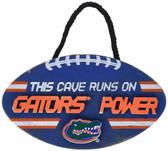 Florida Gators Sign Wood Football Power Design
