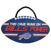 Buffalo Bills Sign Wood Football Power Design