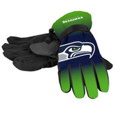 Seattle Seahawks Gloves Insulated Gradient Big Logo Size Small/Medium