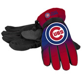 Chicago Cubs Gloves Insulated Gradient Big Logo Size Small/Medium