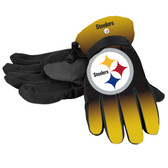 Pittsburgh Steelers Gloves Insulated Gradient Big Logo Size Small/Medium
