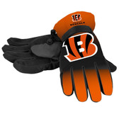 Cincinnati Bengals Gloves Insulated Gradient Big Logo Size Small/Medium