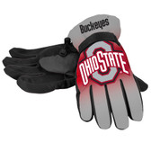 Ohio State Buckeyes Gloves Insulated Gradient Big Logo Size Small/Medium