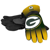 Green Bay Packers Gloves Insulated Gradient Big Logo Size Small/Medium