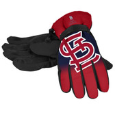 St. Louis Cardinals Gloves Insulated Gradient Big Logo Size Small/Medium