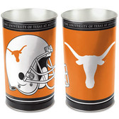 Texas Longhorns Wastebasket 15 Inch