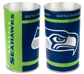 Seattle Seahawks Wastebasket 15 Inch