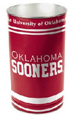 Oklahoma Sooners Wastebasket 15 Inch