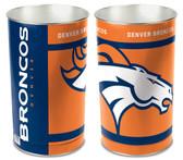 Denver Broncos Wastebasket 15 Inch