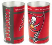 Tampa Bay Buccaneers Wastebasket 15 Inch
