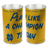 Notre Dame Fighting Irish Wastebasket 15 Inch P.L.A.C.T Design