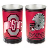 Ohio State Buckeyes Wastebasket 15 Inch Helmet Design