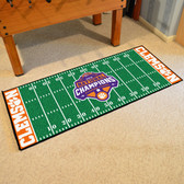 Clemson Tigers 2018-19 College Football Champions Football Field Runner