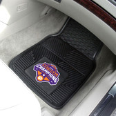 Clemson Tigers 2018-19 College Football Champions 2-pc Vinyl Car Mats