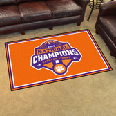 Clemson Tigers 2018-19 College Football Champions 5'x8' Plush Rug