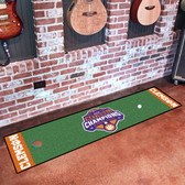 Clemson Tigers 2018-19 College Football Champions Putting Green Mat