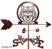 Arizona Wildcats Garden Weathervane