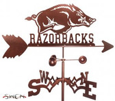 Arkansas Razorbacks Garden Weathervane