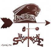 Eastern Illinois Panthers Garden Weathervane