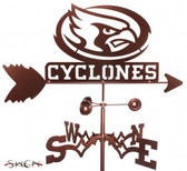 Iowa State Cyclones Garden Weathervane