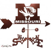 Missouri Tigers Garden Weathervane