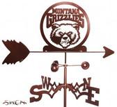 Montana Grizzlies Garden Weathervane