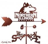Northern Illinois Huskies Garden Weathervane