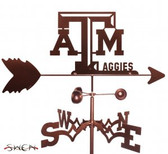 Texas A&M Aggies Garden Weathervane