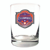 Clemson Tigers 2018 National Champions 14oz Rocks Glass