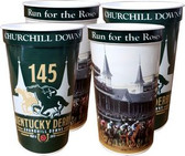 Kentucky Derby 145th Dated 22 oz. Souvenir Cups - 4/pkg.