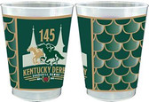 Kentucky Derby 145th Dated 10 oz. Frosted Cups - 25/pkg.