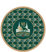 "Kentucky Derby 145th Dated 7"" Paper Plates - 8/pkg."