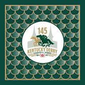 Kentucky Derby 145th Dated Luncheon Napkins - 24/pkg.