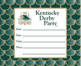 Kentucky Derby 145th Dated Party Invitations - 8 cards w/env.