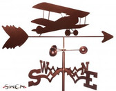 AIRPLANE - BI WING Garden Weathervane