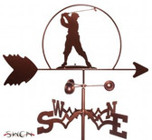 GOLFER - MALE Garden Weathervane