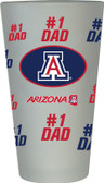 Arizona Wildcats #1 Dad Pint Glass