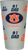 Auburn Tigers #1 Dad Pint Glass
