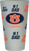 Auburn Tigers #1 Dad Pint Glass