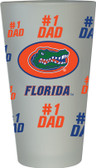 Florida Gators #1 Dad Pint Glass