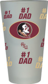 Florida State Seminoles #1 Dad Pint Glass