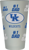 Kentucky Wildcats #1 Dad Pint Glass